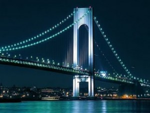 The Verrazano Narrows Bridge
