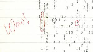 """The signal states """"WOW"""""""