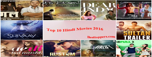 Top 10 Hindi Movies 2016
