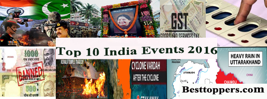 Top 10 India Events 2016