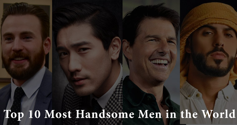 The Top 10 Most Handsome Men In The World