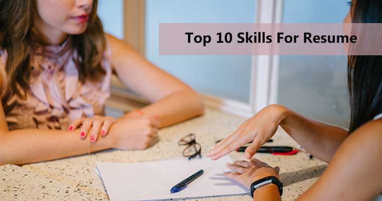 Top 10 Skills for Resume