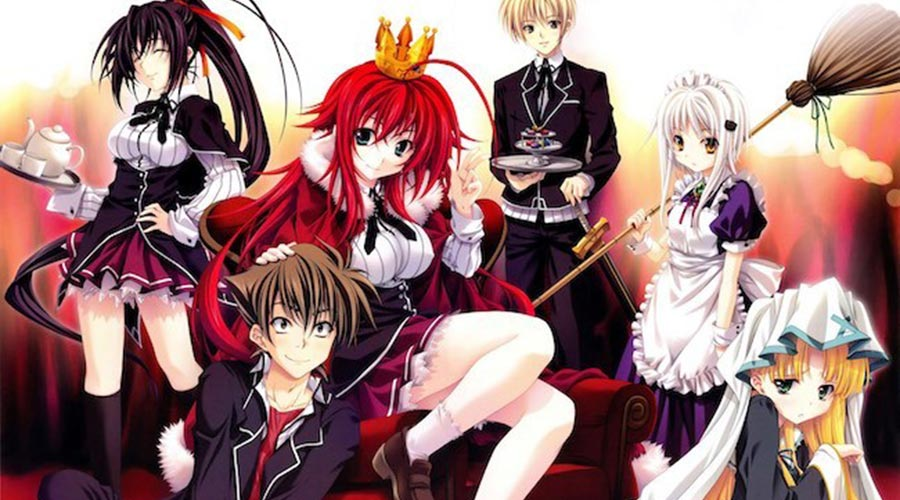 High School DxD Season 5 Cast