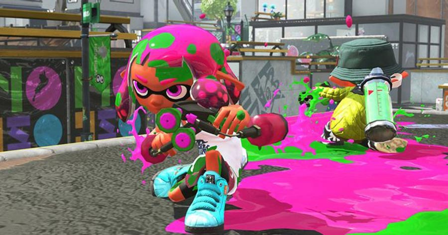 Splatoon 3 Gameplay