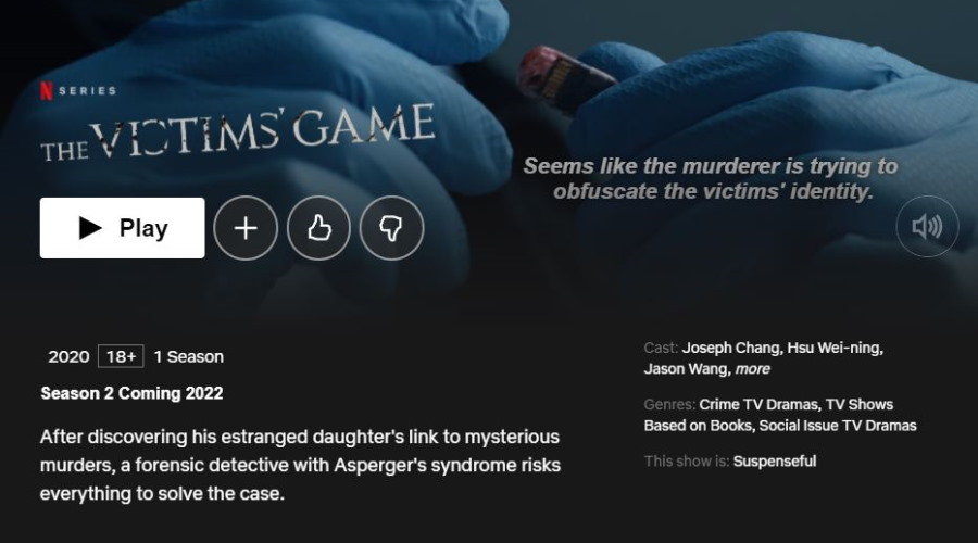 The Victims Game Season 2 Release Date