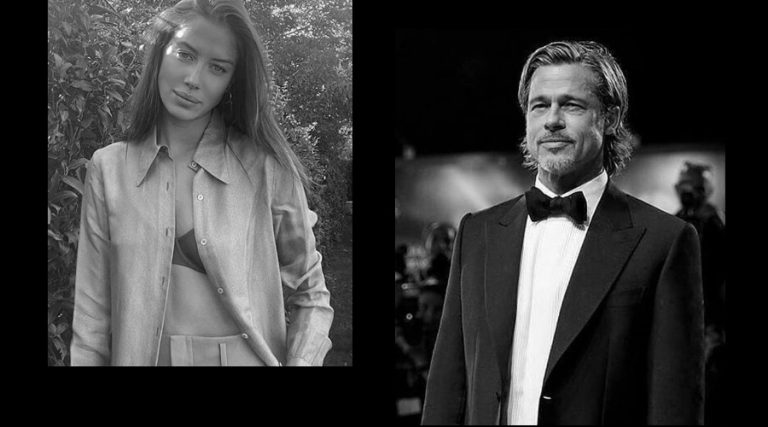 Brad Pitt and his girlfriend Nicole Poturalski reportedly break up after two months of Dating!