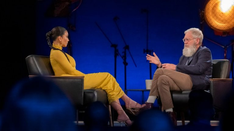 David Letterman Grilled Up Kim Kardashian For Standing With Trump!