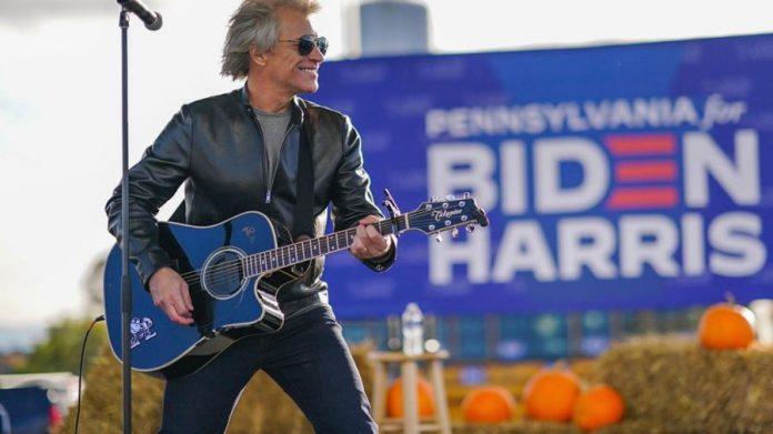 Trump Takes A Potshot At Jon Bon Jovi Crowd Size In A Campaign Rally