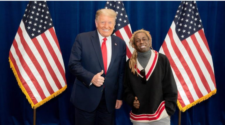 Rapper Lil Wayne Met With Trump on a plan for Black America Days Ahead of Election; Causes Confusion On Social Media!