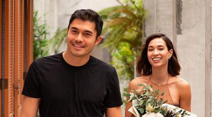 Star Henry Golding and his wife Liv Lo