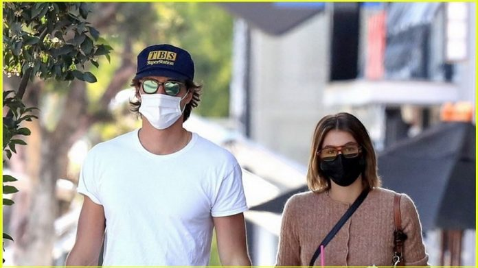 Jacob Elordi Spotted On a Thursday Coffee Run with Girlfriend Kaia Gerber