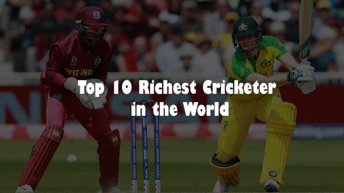 Top 10 Richest Cricketer in the World