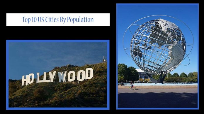 Top 10 US Cities By Population