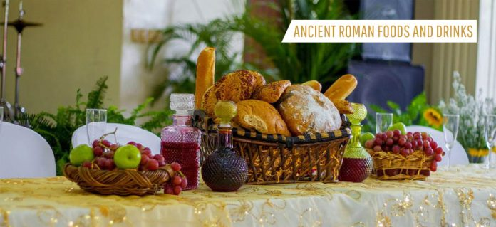 Ancient Roman Foods and Drinks