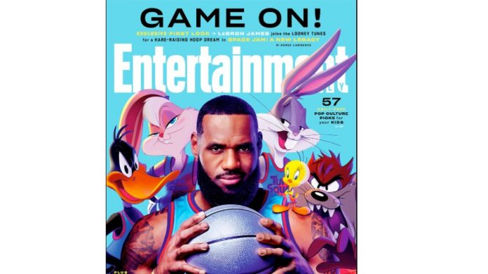 First Look At LeBron James' 'Space Jam' Sequel