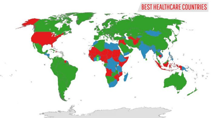 Best Healthcare-Countries