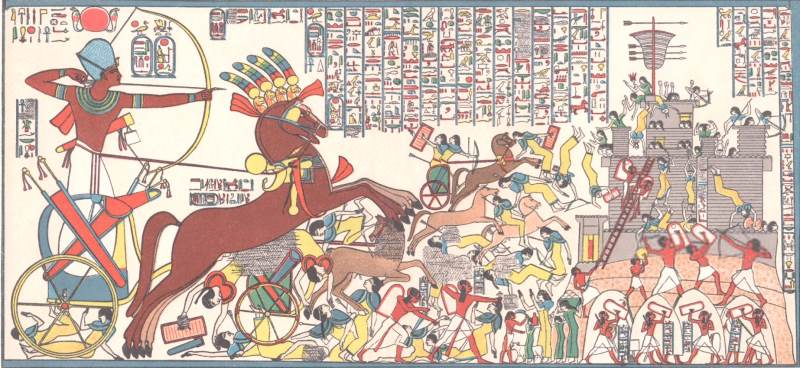 Ramesses the Great – Battle of Dapur