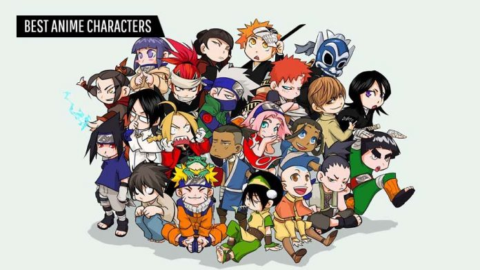 Best Anime Characters