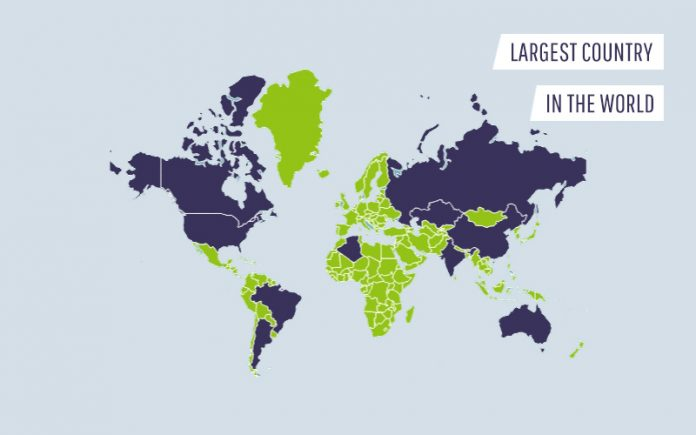 Largest Country In The World